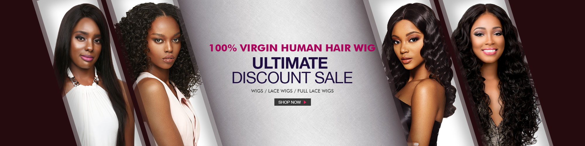 ULTIMATE DISCOUNT SALE! - 100% VIRGIN HUMAN HAIR WIG