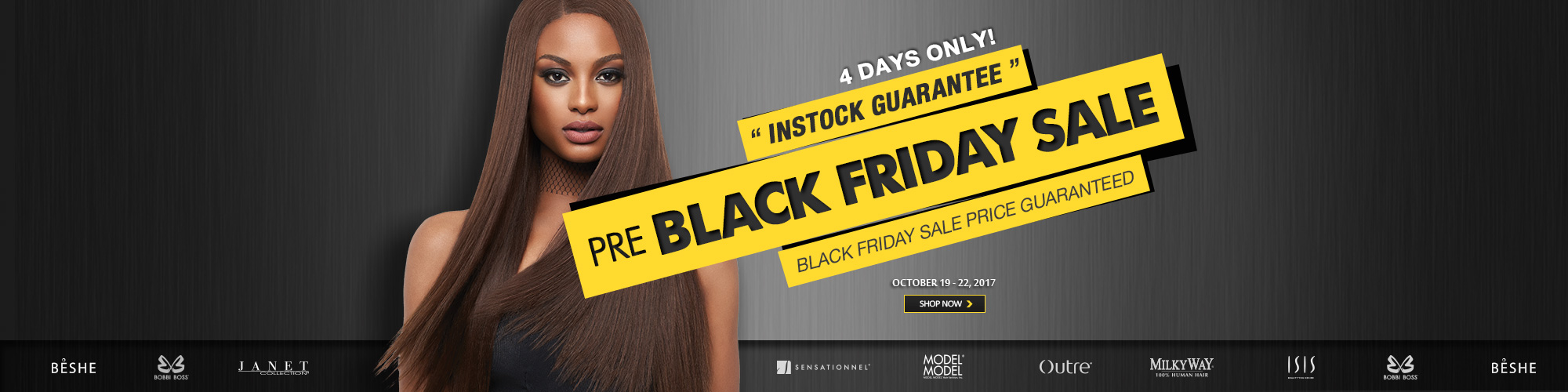 Pre-BLACK FRIDAY SALE - Hair
