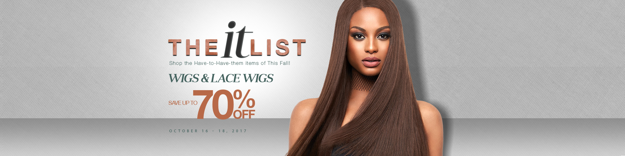 The IT List - Wigs & Lace Wigs