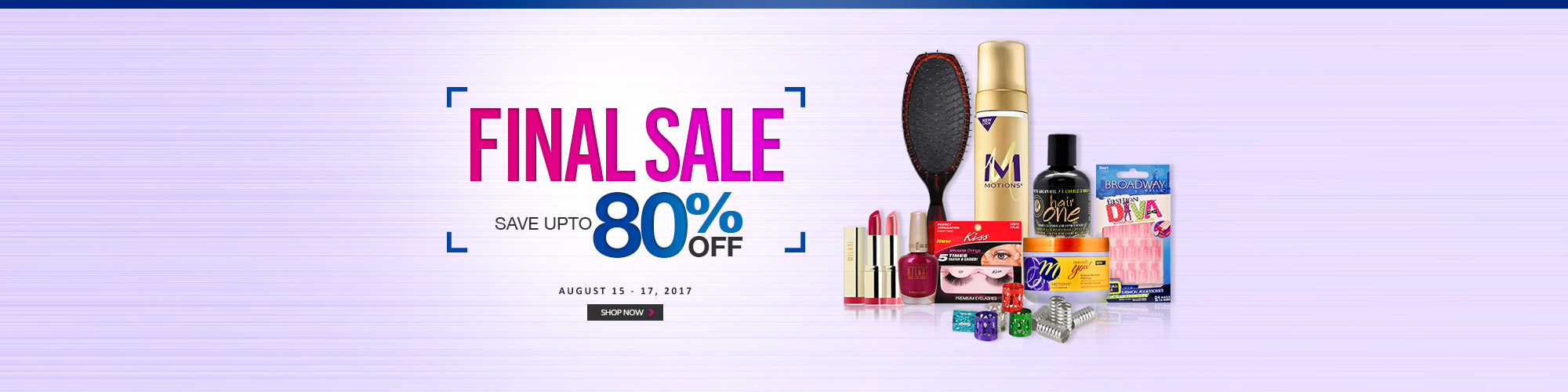 FINAL SALE! - BEAUTY ESSENTIALS