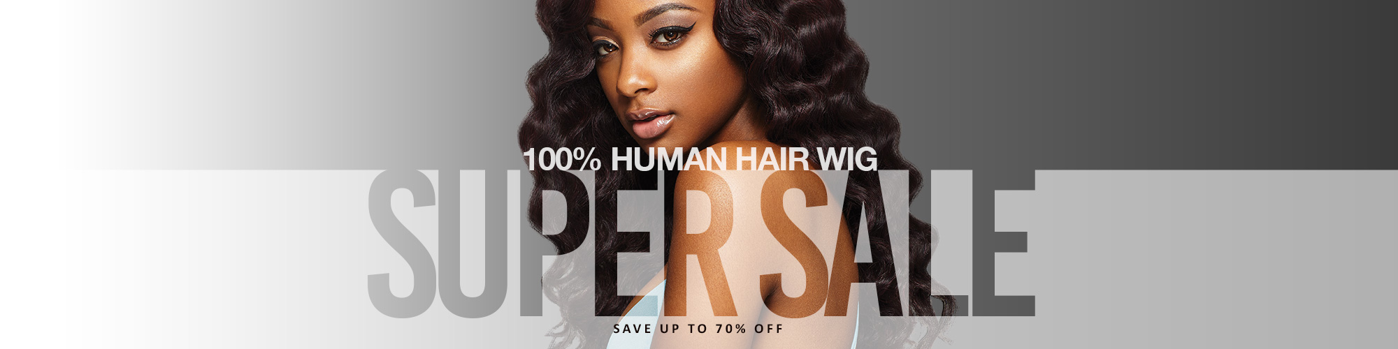 SUPER SALE - HUMAN HAIR WIGS