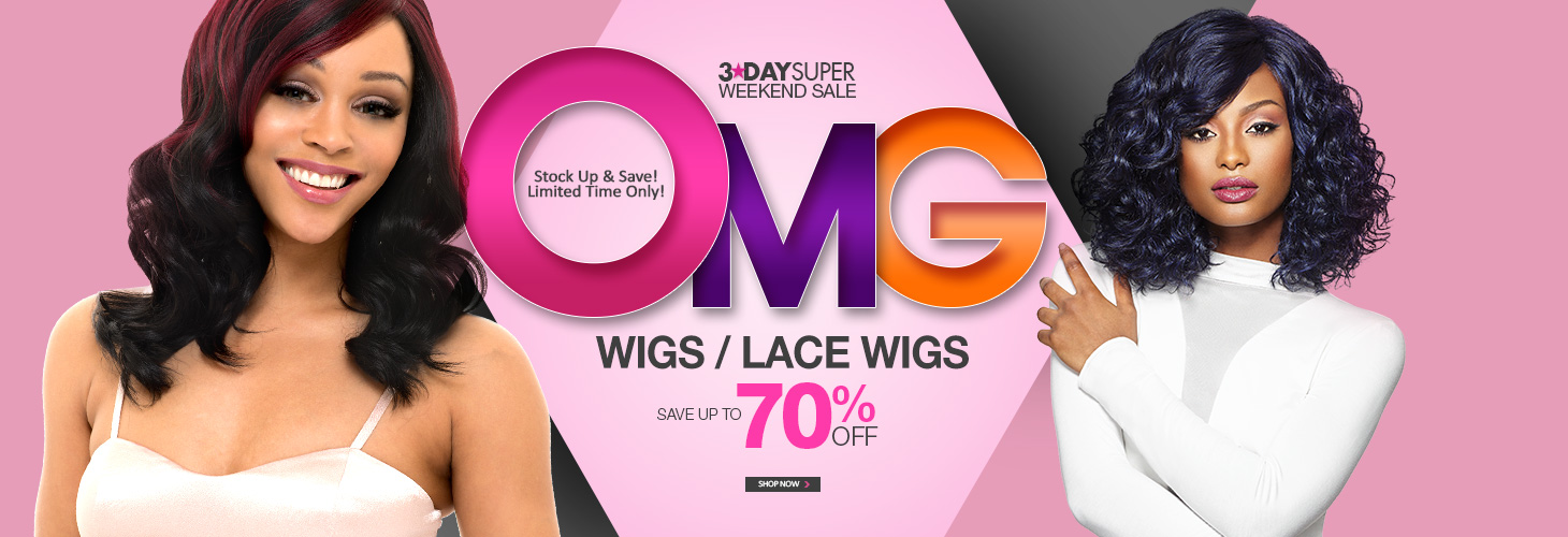 3-DAY OMG SALE! - WIGS & LACE WIGS