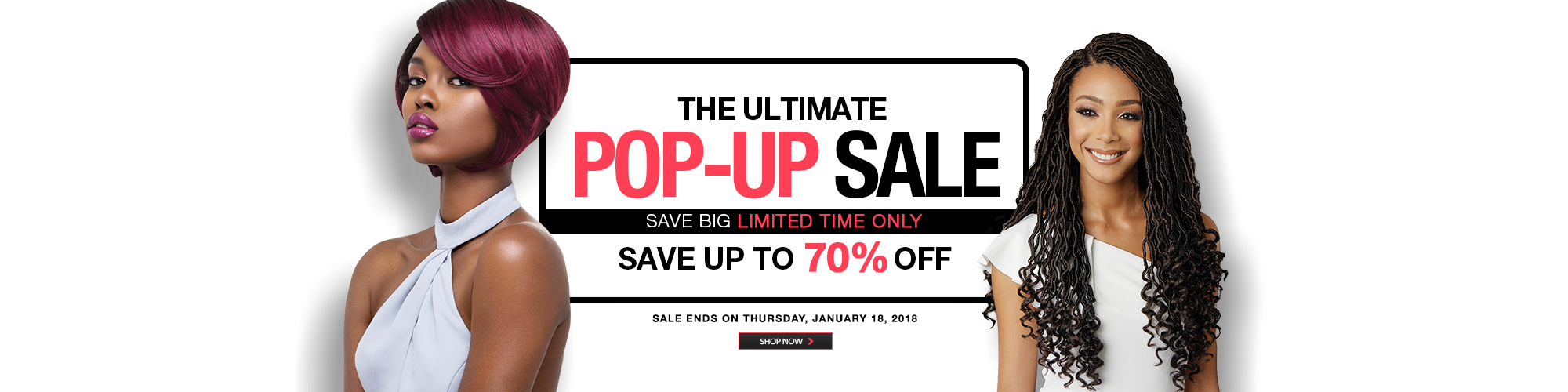 THE ULTIMATE POP-UP SALE!
