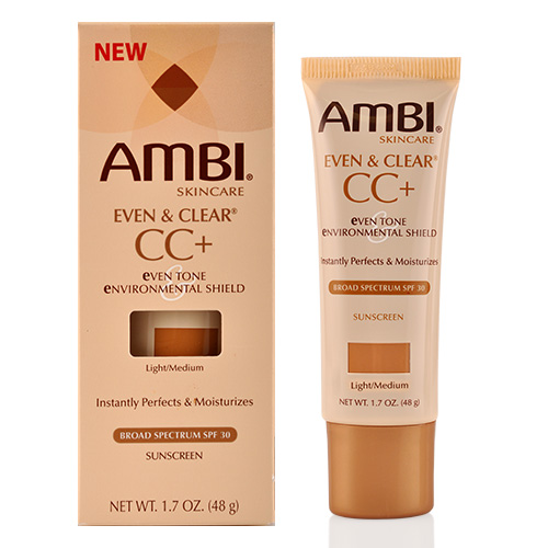Ambi Even & Clear CC+ Even Tone & Environmental Shield, Light/Medium 1.70 oz (Pack of 3) Lierac Hydragenist Extreme Nourishing Rescue Balm (for Undernourished Skin)  50ml/1.7oz