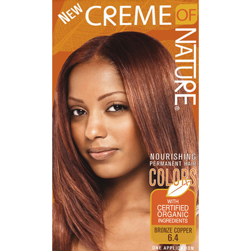 My Hair Color Creme Of Nature Bronze Copper You