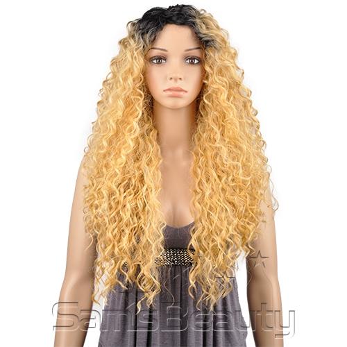 LH-GIGI - THE WIG BRAZILIAN HUMAN HAIR BLEND INVISIBLE