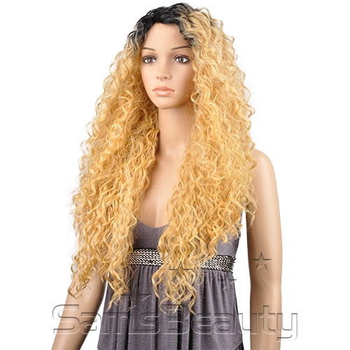 LH FLIP - THE WIG BRAZILIAN HUMAN HAIR BLEND INVISIBLE