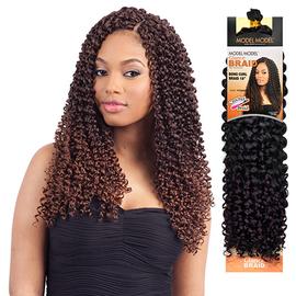 modelmodel synthetic hair crochet braids glance boho curl