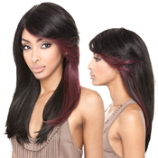 ISIS Human Hair Blend Wig Brown Sugar BS110