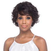 Vivica Fox Natural Brazilian Remi Human Hair Pure Stretch Cap Wig Lisha