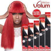 Harlem125 Human Hair Blend Weave KIMA Classic Volum 4Pcs
