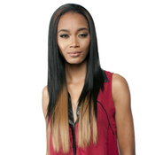 RAMP;B Collection 21Tress Human Hair Blend Half Wig BHFeel