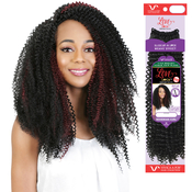 Vivica Fox Brazilian Human Hair Blend Crochet Braids Love Lock Bohemian Curl 14