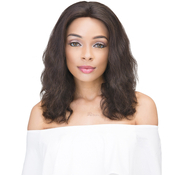 Janet Collection Natural Virgin Remy Human Hair Lace Front Wig 360 Lace Natural Wig 14