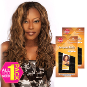Say Me Human Hair Blend Weave Cuatro All in 1 Euro body 4pcs