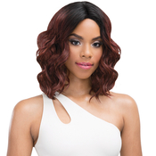 Janet Collection Human Hair Blend Lace Front Wig Brazilian Scent Lace Skyler