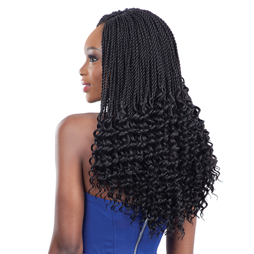 Crochet Hair Pre Curled : FreeTress Synthetic Hair Crochet Braids Pre-Curled Lusty Twist ...