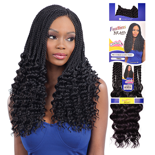 Crochet Hair Pre Curled : braids synthetic hair synthetic hair braids