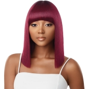 Outre Synthetic Hair Full Cap Quick Weave Complete Cap Bang Jodie