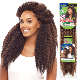Janet Collection Synthetic Hair Braids Noir Havana Twist Braid