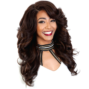 Royal Sis Synthetic Hair Wig Diva Collection Pre Tweezed Part Diva H Sista