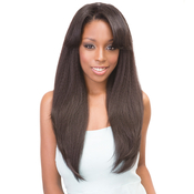 Janet Collection Synthetic Hair Wig Retro GlamAMP;Vibe U Type 1B Straight Wig 22
