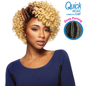Outre Synthetic Hair Full Cap Quick Weave Complete Cap Deep Part Lolo