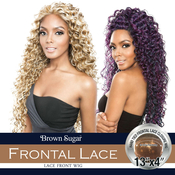 ISIS Human Hair Blend Lace Front Wig Brown Sugar 13X4 Frontal Lace BSF10