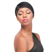 Sensationnel Human Hair Wig Premium Now Free Style Bump Wig Bobby