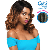Outre Synthetic Hair Full Cap Quick Weave Complete Cap Deep Part Josie