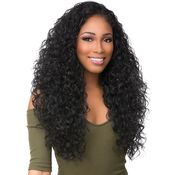 Sensationnel Synthetic Hair Half Wig Instant Weave Boutique Bundles Deep