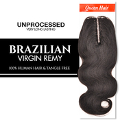 Queen Hair Unprocessed Brazilian Virgin Remy Human Hair weave Lace Top Body Closure