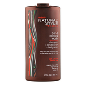 Natural Style by FUBU Mens 3in1 Cleansing Wash 12oz