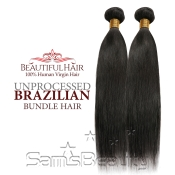 Beautiful Hair 100 Virgin Remy Human Hair Unprocessed Brazilian Bundle Hair Weave Natural Straight