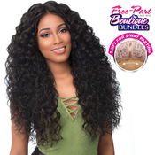 Sensationnel Synthetic Lace Front Wig Empress Edge Boutique Bundles 3Way Free Part Lace Wig Deep