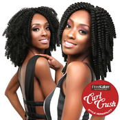 FreeKalon Synthetic Hair Crochet Braids Curl Crush Caro Curl 20 Small