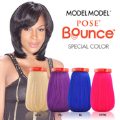 Model Model Human Hair Blend Weave Pose Bounce Special Color
