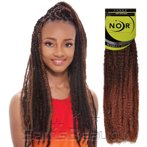 Swell Synthetic Hair Braids Janet Collection Noir Afro Twist Braid Short Hairstyles Gunalazisus