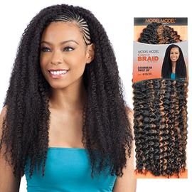 Modelmodel Synthetic Hair Crochet Braids Glance Caribbean Twist 20