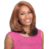 Sensationnel Synthetic Lace Front Wig Empress Edge Natural Curved Part Madison