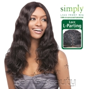 OUTRE Simply NonProcessed Human Hair Lace Front Wig Brazilian Natural Wave