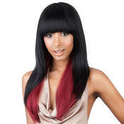 Hair Color Shown: SMP1B/RED - SamsBeauty.com