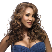Vivica Fox Synthetic Lace Front Wig LavenderV Special Color