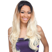 Its a Wig Human Hair Blend Lace Front Wig Malaysian Body