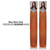 New Born Free Human Hair Blend Braids Yaki Micro Braiding 2224