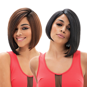 Janet Collection Synthetic Hair Wig HandMade Skin UPart Wiked