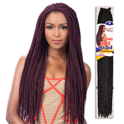 Freetress Large Crochet Box Braids : FreeTress Synthetic Hair Crochet Braids Long Medium Box Braid 24