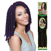 Bobbi Boss Synthetic Hair Crochet Braids Bomba Dreadlocks Faux Locs Soul 3Pcs 81012