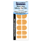 Broadway Nails Short Time Adhesive Nail Tabs