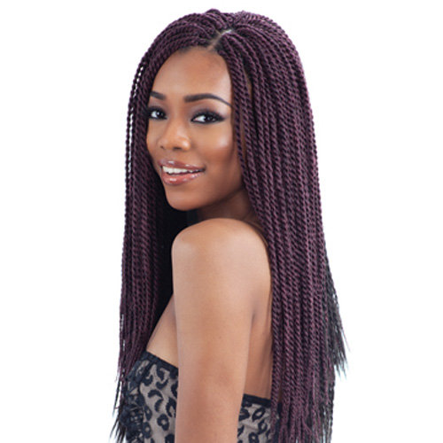 ... Synthetic Hair Crochet Braids Senegalese Twist Small - SamsBeauty